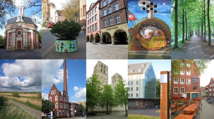 Sehenswürdigkeiten und Aktivitäten in Münster