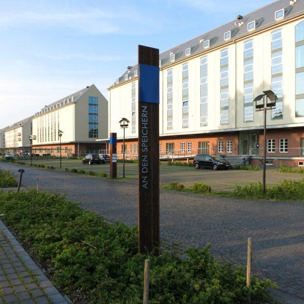 Speicherstadt in Münster