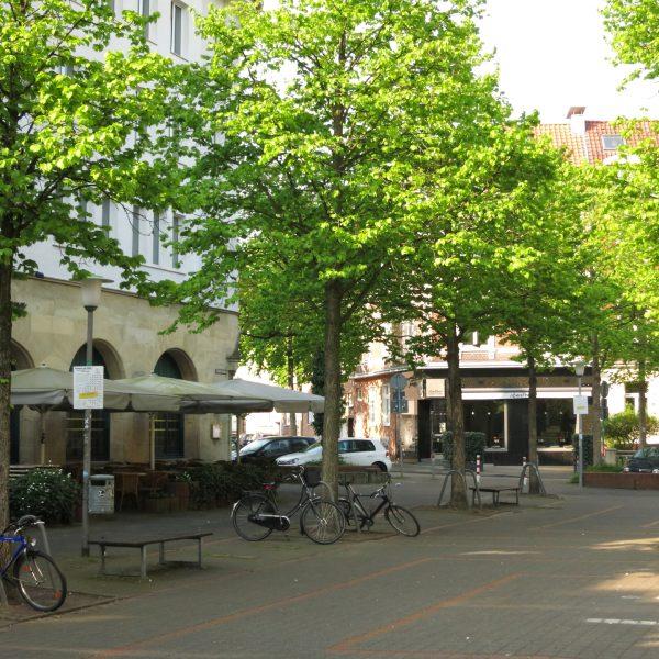 Staufenplatz Münster Erphoviertel