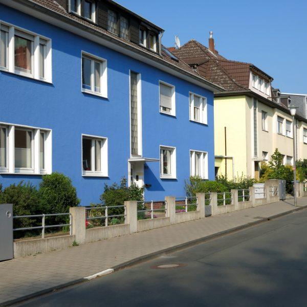 Wohnhäuser im Geistviertel in Münster
