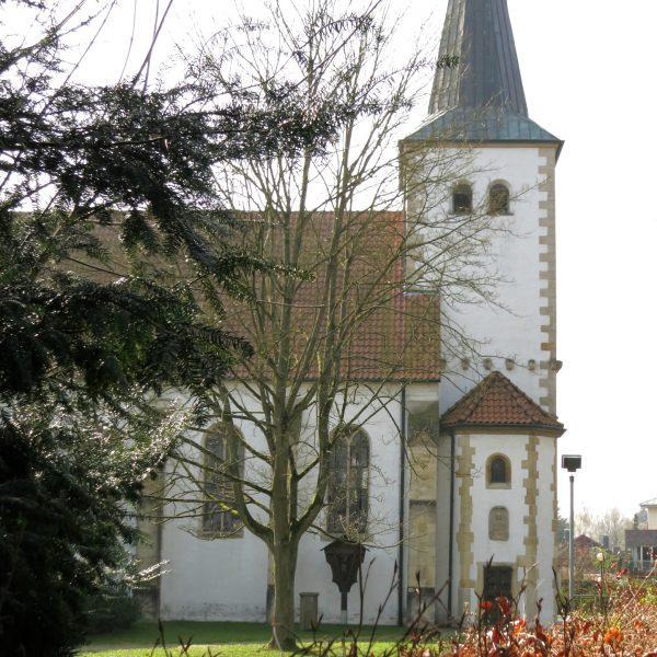 Kirchplatz in Münster-Handorf