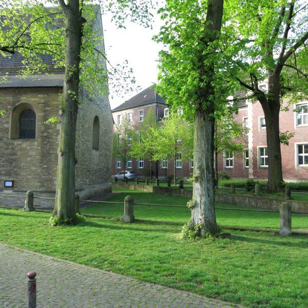 Servatiikirchplatz in Münster