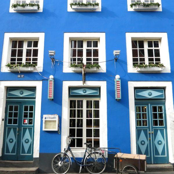 Blaue Haus Kuhviertel Münster