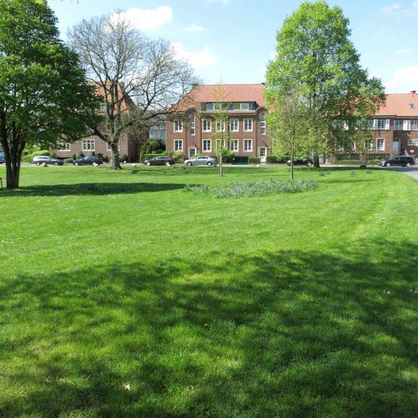 Grünanlage im Mauritzviertel in Münster