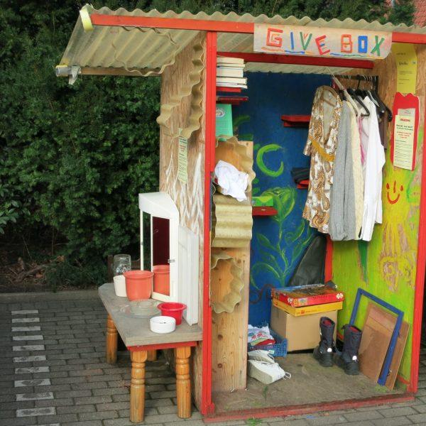 Give Box im Mauritzviertel in Münster