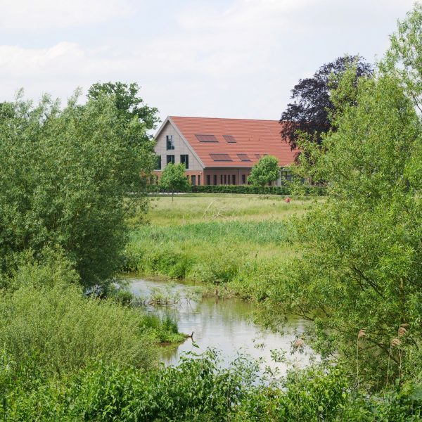 Blick über den Aasee in Münster-Mecklebeck