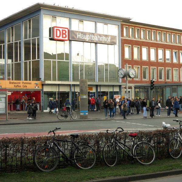 Hauptbahnhof Münster vor dem Umbau