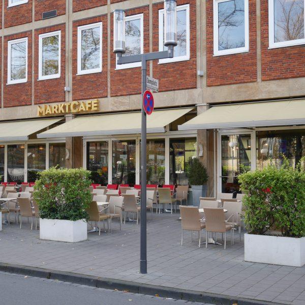 Marktcafé in Münster