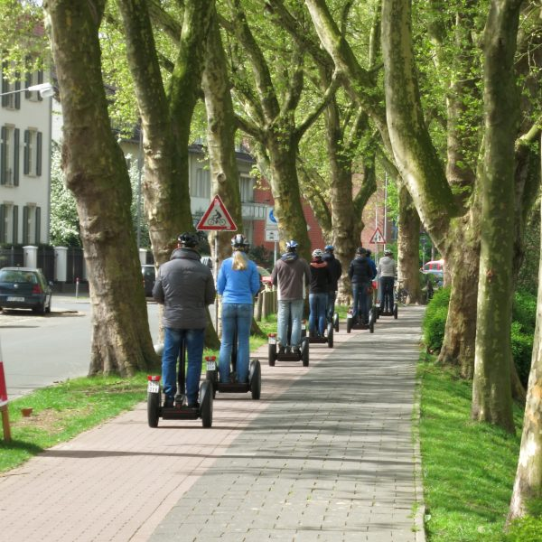 Segway Personal Transporter in der Innenstadt von Münster