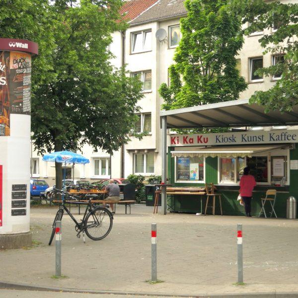 Kiosk im Wohnviertel in Münster
