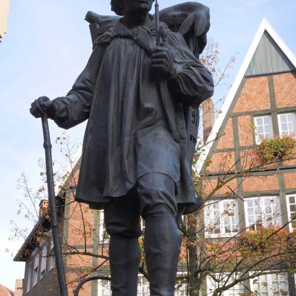 Kiepenkerl Denkmal in Münster
