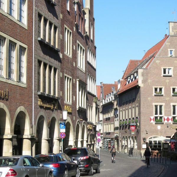 Kiepenkerlviertel in Münster