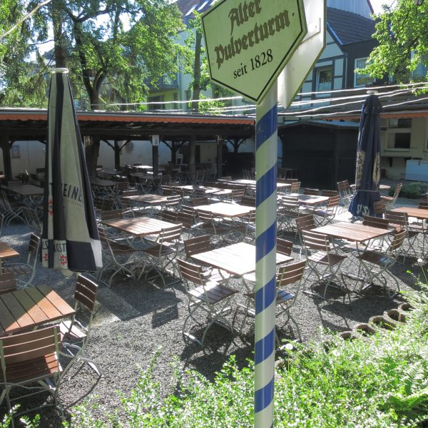 Biergarten Alter Pulverturm in Münster