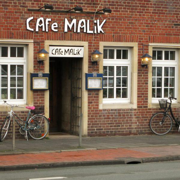 Café Malik am Schlossplatz in Münster