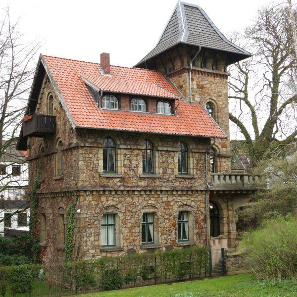 Tuckesburg in Münster - Ehemaliger Wohnsitz von Professor Landois