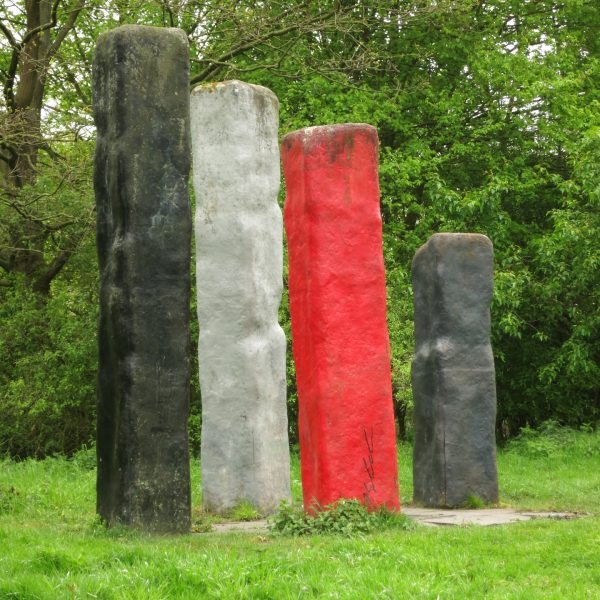 Skulptur im Wienburgpark in Münster