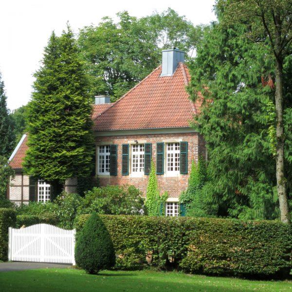 Fürstbischöfliches Jagdhaus im Wolbecker Tiergarten in Münster